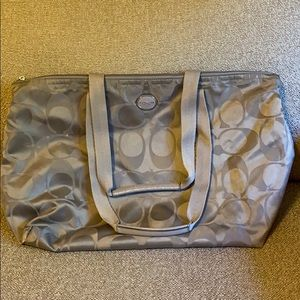 Authentic Coach small gym bag
